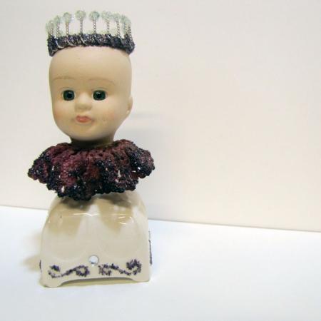 Doll Head Sculpture - An Item in bARTer Sauce